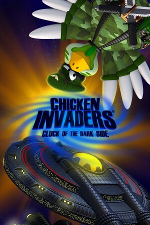 Chicken Invaders 5 cover