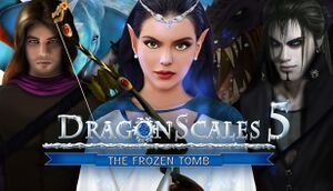 DragonScales 5: The Frozen Tomb cover