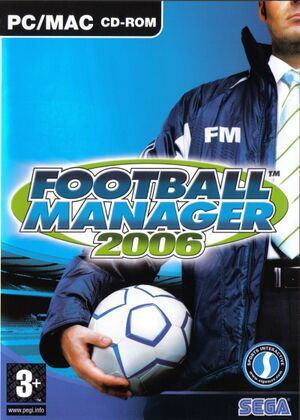 Football Manager 2006 cover