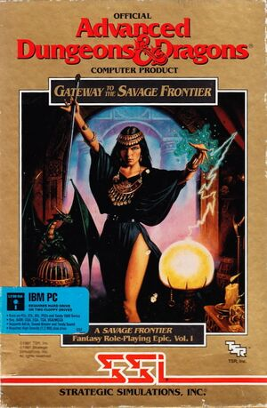 Gateway to the Savage Frontier cover
