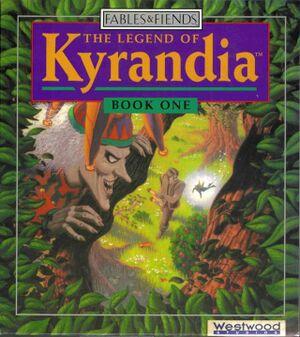Legend of Kyrandia cover