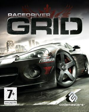 Race Driver: Grid cover