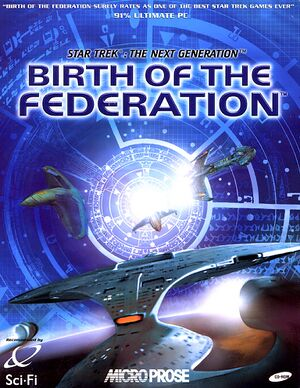 Star Trek: The Next Generation - Birth of the Federation cover