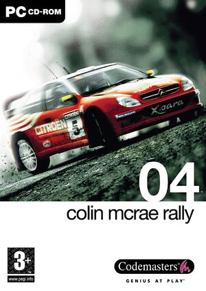 Colin McRae Rally 04 cover