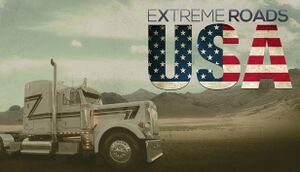 Extreme Roads USA cover