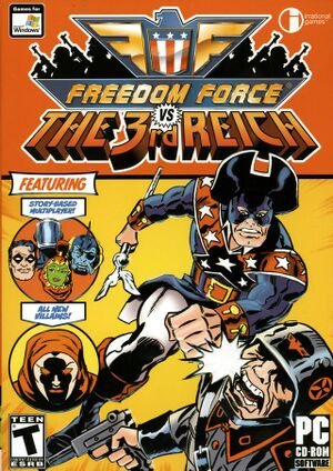 Freedom Force vs. The 3rd Reich cover