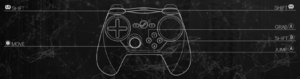In-game gamepad controls (Steam controller).