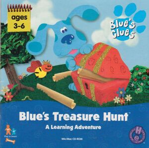 Blue's Treasure Hunt cover