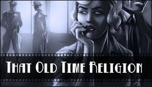 Deadlands Noir - That Old Time Religion cover