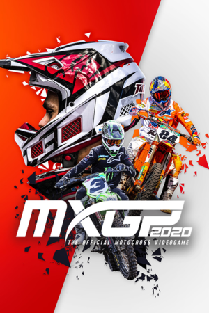 MXGP 2020 -The Official Motocross Videogame cover