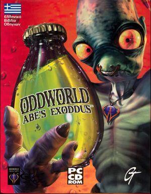 Oddworld: Abe's Exoddus cover