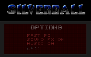 In-game options.