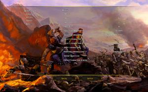In-game keys settings.