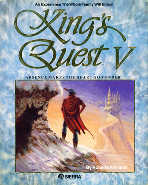 King's Quest V: Absence Makes the Heart Go Yonder! cover