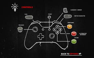 Gamepad controls (Xbox)