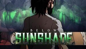 Below Sunshade cover