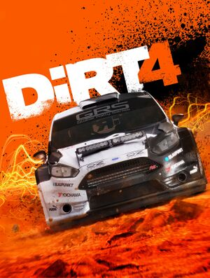 DiRT 4 cover