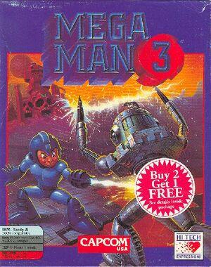 Mega Man 3 cover