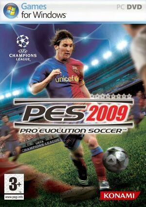 Pro Evolution Soccer 2009 cover