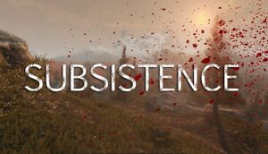 Subsistence cover