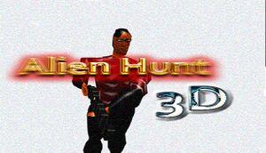 Alien Hunt 3D cover