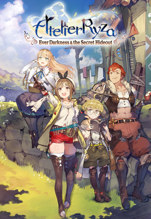 Atelier Ryza: Ever Darkness & the Secret Hideout cover