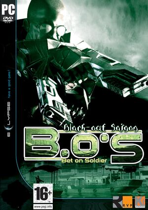 Bet on Soldier: Black-out Saigon cover