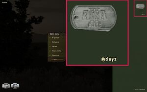@DayZ appearing means that the mod has loaded correctly.