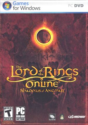 The Lord of the Rings Online cover