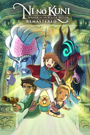 Ni no Kuni: Wrath of the White Witch Remastered cover