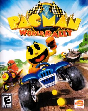 Pac-Man World Rally cover