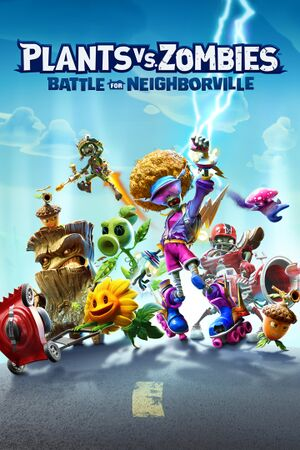 Plants vs. Zombies:Battle for Neighborville cover