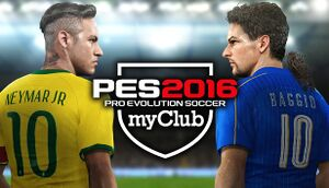 Pro Evolution Soccer 2016 myClub cover