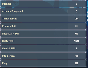Keyboard and mouse settings (2/2).