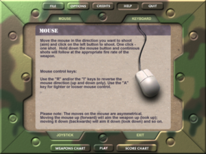 In-game mouse controls.
