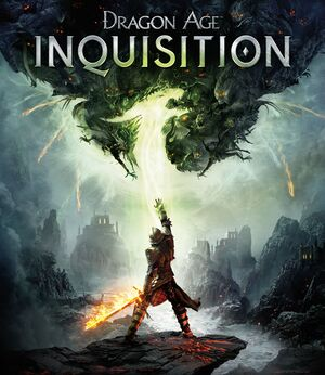 Dragon Age: Inquisition cover
