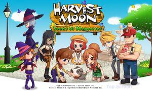 Harvest Moon: Seeds of Memories cover