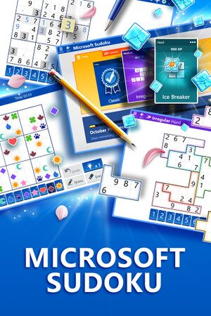 Microsoft Sudoku cover