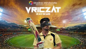 VRiczat - The Virtual Reality Cricket Game cover