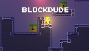 BlockDude cover