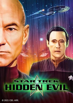 Star Trek: Hidden Evil cover