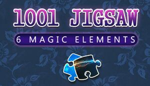 1001 Jigsaw. 6 Magic Elements cover