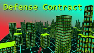 Defense Contract cover