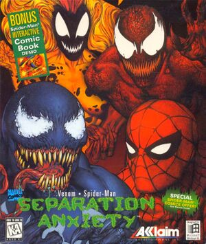 Spider-Man & Venom: Separation Anxiety cover