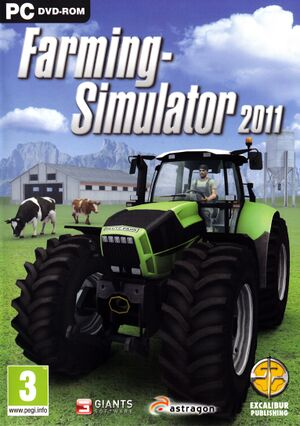 Farming Simulator 2011 cover