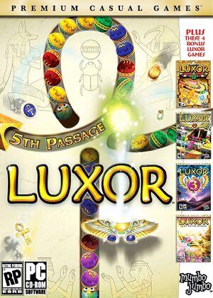 Luxor 5th Passage cover