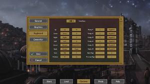 Keyboard settings (interface).