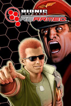 Bionic Commando Rearmed cover
