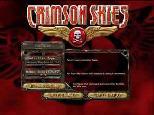 In-game general controls settings.