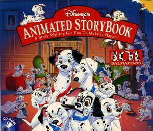 Disney's Animated Storybook: 101 Dalmatians cover